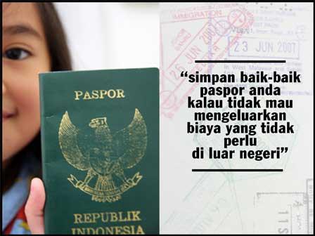 Syarat pembuatan dan pengurusan paspor anak